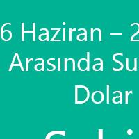 Dolar Kurunu Sabitledik - TURCOM